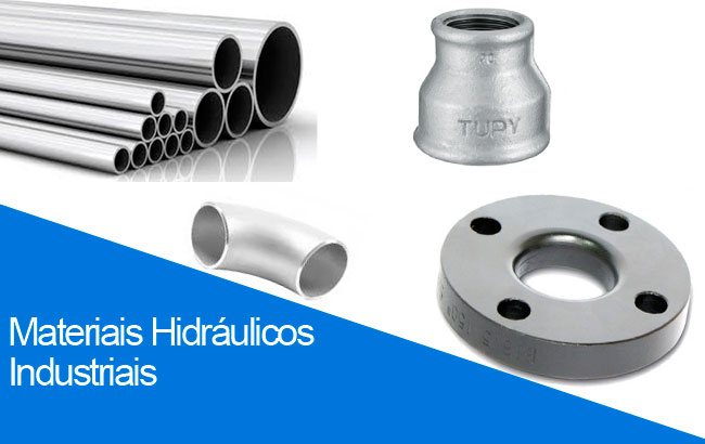 Materiais hidráulicos industriais