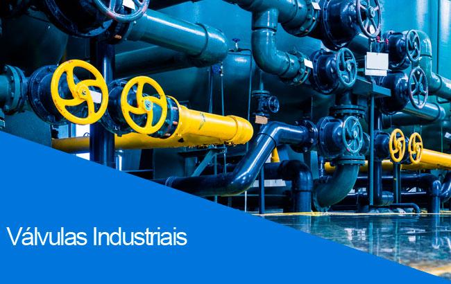 válvulas industriais