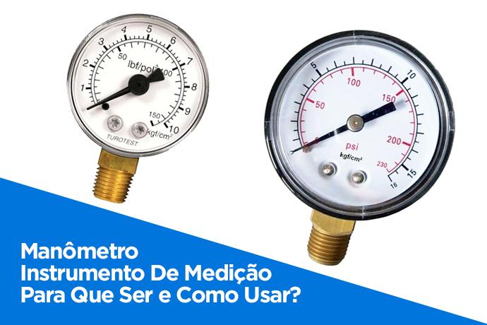 Manômetro Instrumento De Medição